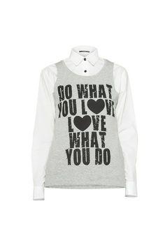 Lidia Kalita - koszula i top, 390 zł #nacomaszochote http://boutiquelamode.com/