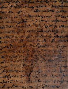acrylic on canvas Alfredo Rapetti Mogol, 'Scrittura,' 2013, Galleria Ca' d'Oro