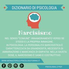 Dizionario di #Psicologia: #Narcisismo