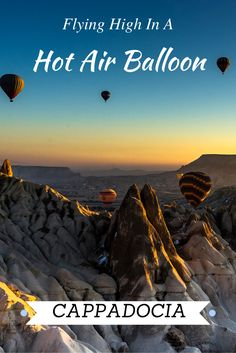 An experience of a life time. Being up high over Cappadocia, looking at all the fairy chimneys and watching the sunrise was absolutely stunning. Check out our post and see why it should be on your list. #turkey #travelmore #travelexperience