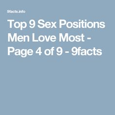 Top 9 Sex Positions Men Love Most - Page 4 of 9 - I Love My Hubby, Man In Love, Flirty Questions, Please Man, Secret Crush Quotes, What Is Positive, Healthy Relationships, Positivity, Men