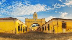 Antigua rises from the ashes