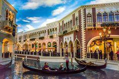 Venezianische, Las Vegas, Gondel