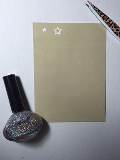 45 stars and stripe Nail Vinyl/ Stencil by SheNailedIt on Etsy