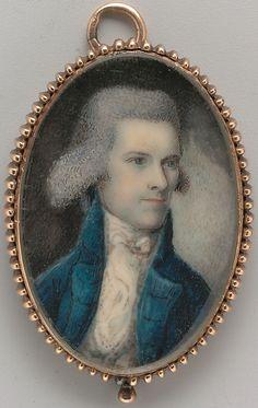 Portrait of a Gentleman  Nathaniel Hancock  (active 1785–1809)