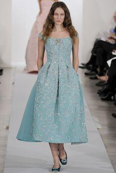 Oscar de la Renta Pre-Fall 2013 Fashion Show - Franzi Mueller