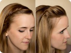 7 Best Easy and Chic Holiday Hairstyle Ideas Twist fringe---twisting them and adding a bit of gel or wax