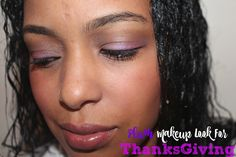 Plum Makeup look for Thanksgiving - Stress Free Mommies