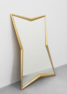 Konkave Mirror (ash wood) Sparkx Collection by Jean-Louis Deniot for Marc De Berny (www.marcdeberny.com)
