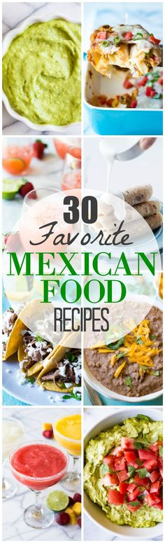 The ultimate collection of Mexican food recipes worthy of any fiesta!!  Everything from appetizers, drinks, side dishes, main dishes and desserts.  All organized to mix and match to guide you through preparing a Mexican themed feast!  Perfect for any Mexican food lover!