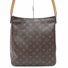37043d3ddba7 Louis Vuitton Looping GM M51145 Brown Monogram Shoulder Bag 11044