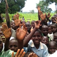 ever since I was in second grade, I so badly wanted to travel to Africa. We learned about how they need clean water and how to help. I wanted to go and see and help for myself. But now it's more than that. I want to go and spread the love of Christ.<3