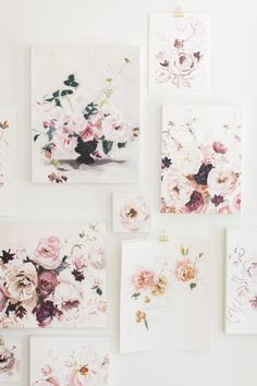 Beautiful floral art