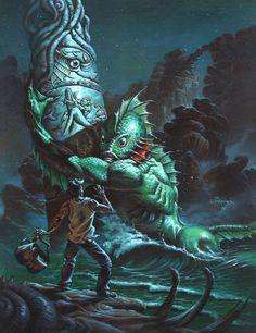 Dagon (Ancião) • Entidades • H.P. Lovecraft