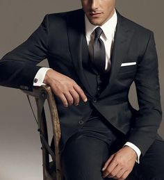 """The suave and classy groom. This suit screams """"all bets are off"""""""