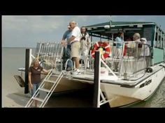 Across the river from Saint Marys, catch the Amelia River Cruises, Eco Shrimping Tour.