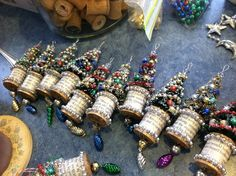 bottle brush tree ornament | Tutorial at christmasnotebook.c… | Flickr