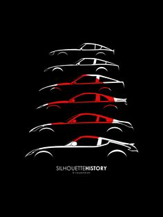 Nissan Z SilhouetteHistory by me Love the #GTR or anything #JDM? We do too! Check us out at www.Rvinyl.com!#Rocketbunny lover? #GotJDM? Check out #Rvinyl's #JDM #Slammed & #Stanced board.