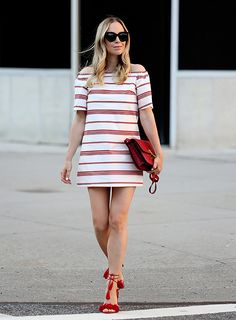 Sydne Style shows fourth of july outfit ideas with fashion blogger brooklyn  blonde Summer Stripes 793421876