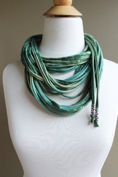 CIRCUS. A strand scarf necklace in super by BonetteDesignCompany, $35.00