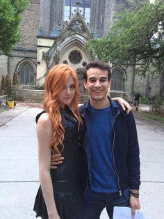 Kat McNamara and Alberto Rosende