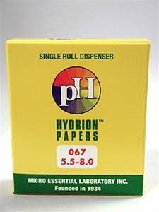 Perque - pH Hydrion Papers (5.5-8.0) 1 roll by Perque. $9.76. 142. Perque - pH Hydrion Papers (5.5-8.0) 1 roll. pH Hydrion Papers (5.5-8.0) 1 roll approximately 90 tests each carton Perque products may only be purchased by Health Care Professionals. Patients who want to buy Perque products may obtain them from their Health Care Professional. Hydrion Papers work best with Buffered solutions. Unbuffered solutions should be tested with our Lo Ion kits. Withdraw and tear off appr...