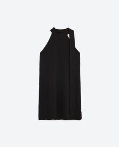 Image 8 of HALTER-NECK DRESS from Zara
