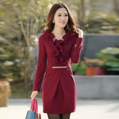 Long sleeve Dresses New Fall and Winter Beier