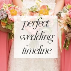 Lots of details go in to planning the perfect wedding! Make sure you have a perfect wedding day timeline, too! http://blog.shutterchicphoto.com/