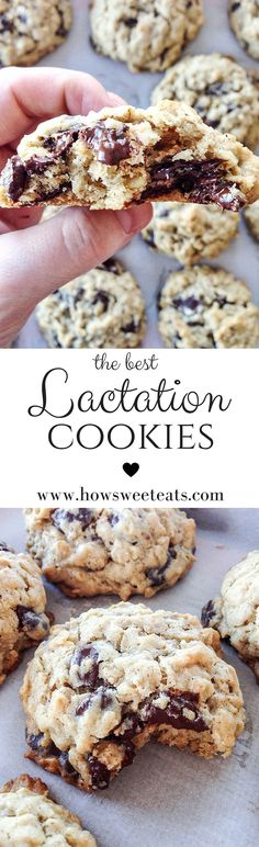 my favorite lactation cookies, so great for new moms! by @howsweeteats I howsweeteats.com