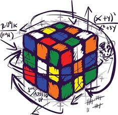Rubik's Cube Puzzle on Light Tees / how to solve rubik's cube puzzle Math Wallpaper, Marshmello Wallpapers, Cube Design, Cube Puzzle, Arte Pop, Light Art, Art Boards, Street Art, Art Prints