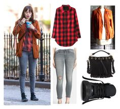 """Get the Look: Dakota Johnson"" by ericapereiradia ❤ liked on Polyvore"