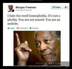 Testify, Morgan Freeman!
