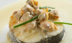 Receta de Lomo de merluza con salsa de berberechos