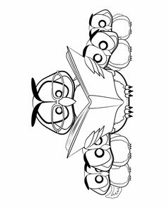 coloring page but will use for pl reading list card or daddy and kid - Kids Printable Colouring Pages