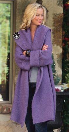 Purple soft jacket