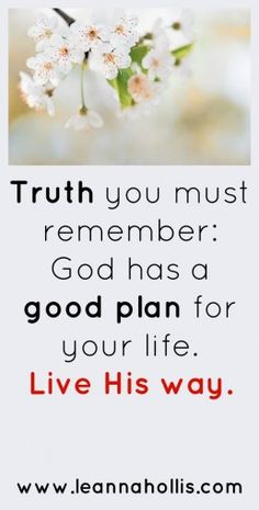 God's plan for us is joyful, abundant living. Living His way is worth it. Christian Encouragement, Encouragement Quotes, Faith Quotes, Bible Quotes, Bible Verses, Religious Quotes, Spiritual Quotes, Spiritual Health, Godly Relationship