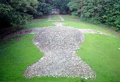 The ancient Native American stone effigy: Rock Eagle in Eatonton ~