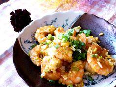 Saltrf egg and shrimps 鹹蛋蝦仁食譜、作法 | 力力隨意煮的多多開伙食譜分享