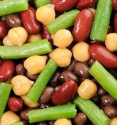 A healthy, tangy bean salad is the perfect vegan Easter side dish. Alive with color and flavor, you may want to make extra so you have some left over for the next day.