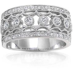 Wide Band Diamond Wedding Rings For Women S Bands Page 8