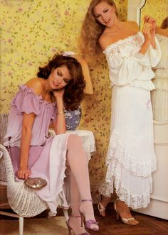 Beautiful dresses from 1980.