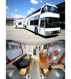 Most Extreme RVs - CNBC The double decker Der Bus with VIP lounge.