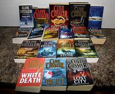 clive custler dirk pitt books - Awesome! We need more movies! Sahara was not enough!