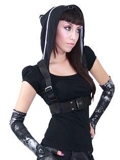 Plastik Arm: NightShade hood http://www.plastikarmy.com/gear/#