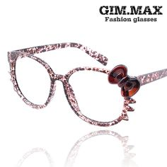 69a2836a6c prescription glasses Bow round box glasses frame hello kitty cat leopard  print eyeglasses frame TB2 on AliExpress.com.  7.28