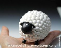 Shaun the Sheep: A Creation in Polymer Clay by Handmade by Lindsay - leilani handmade Animal Crafts For Kids, Animals For Kids, Polymer Clay Crafts, Diy Clay, Sheep Fondant, Shaun The Sheep Cake, Ceramic Sculpture Figurative, Sheep Crafts, Cute Clay
