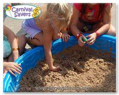 DIY Carnival Game -- Dino Dig!