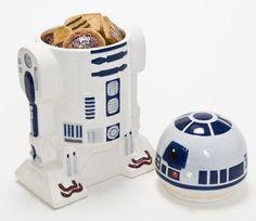 Star Wars Biscottiera in ceramica Joy Toys 21679 Star Wars Cookies, Ceramic Cookie Jar, Cookie Jars, Cadeau Star Wars, Star Wars Gadgets, R2d2, Kitchen Box, Clever Gadgets, Disney Kitchen