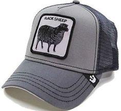 6cb5fa57 Goorin Bros Animal Farm Black Sheep Hat Shades Of Black Cap Gray